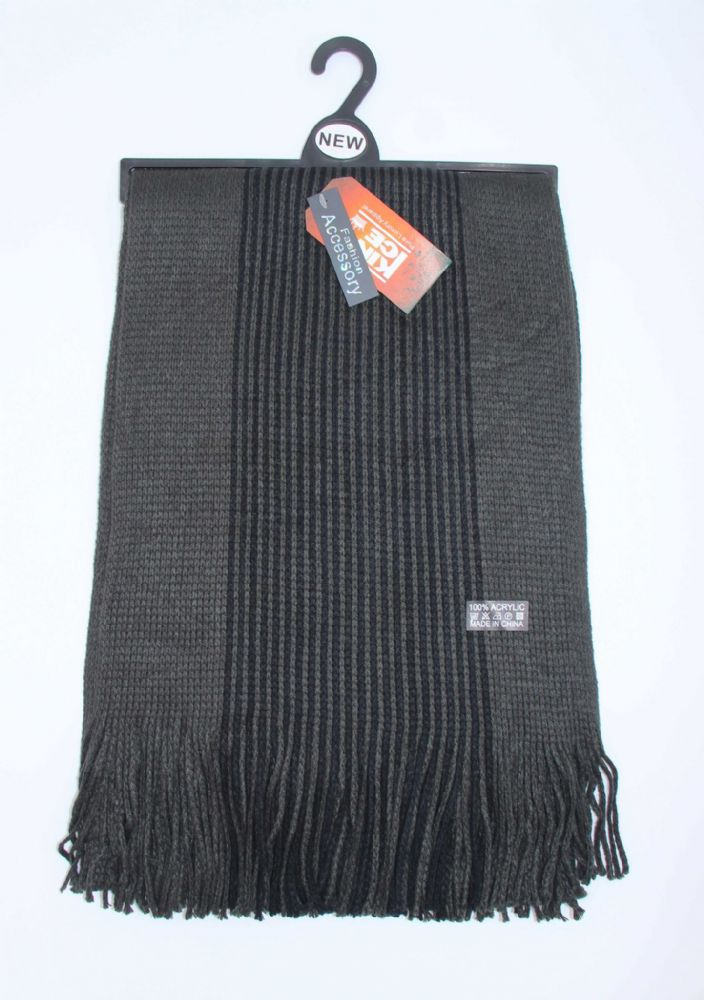 Mens knitted scarf winter scarfs